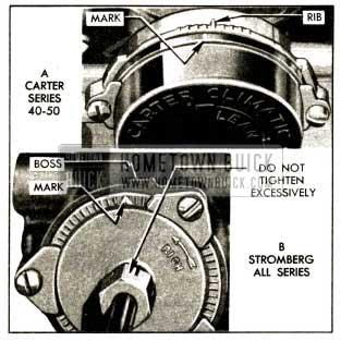 1952 Buick Choke Thermostat Settings