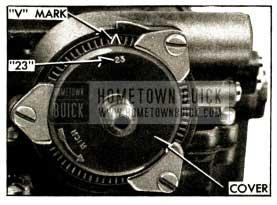 1952 Buick Choke Thermostat Standard Setting