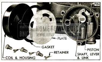 1952 Buick Climatic Control Parts