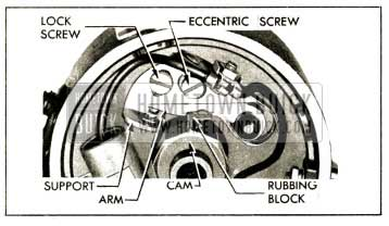 1952 Buick Contact Point Adjustment
