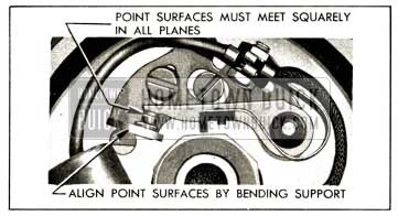 1952 Buick Contact Point Alignment