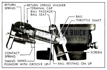 1952 Buick Correct Installation of Switch Parts