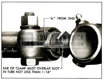 1952 Buick Correct Position of Tie Rod Clamp