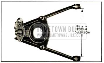 1952 Buick Correct Spacing of Control Arm Inner Ends