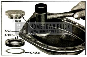 1952 Buick Crankshaft Oil Seal and Gasket Installation