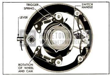 1952 Buick Direction Signal Switch Set for Right Tum