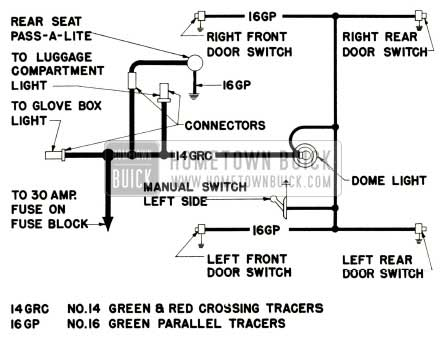 1952 buick dome lamp wiring diagram models 52 and 72r dome light wiring diagram 2003 ford f 250 dome light switch  at crackthecode.co