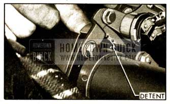 1952 Buick Dynaflow Transmission Control Detent