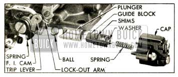 1952 Buick Fast Idle Cam and Vacuum Switch Parts
