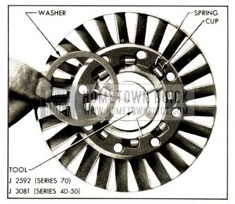 1952 Buick First Position of Primary Stator Assembly Tool