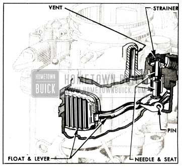 1952 Buick Float System-Carter WCD Carburetor
