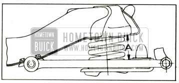 1952 Buick Front Spring Trim Dimension