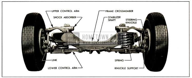 1952 Buick Front Wheel Suspension