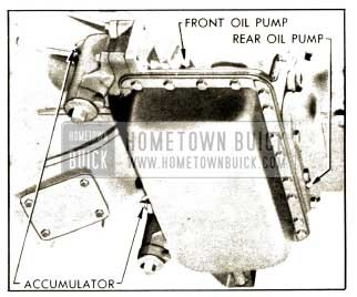 1952 Buick Gauge Connections for Oil Pressure Tests