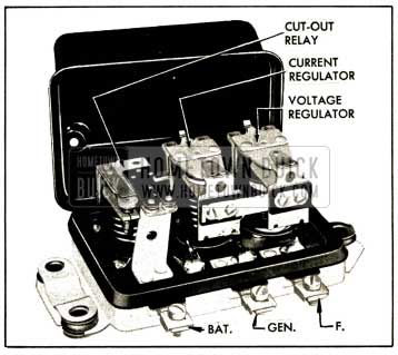 1952 Buick Generator Regulator