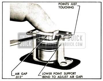 1952 Buick Horn Relay Air Gap Adjustment