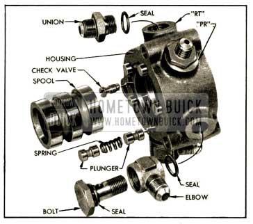 1952 Buick Hydraulic Valve Parts