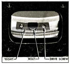 1952 Buick Installation of Balance Weight