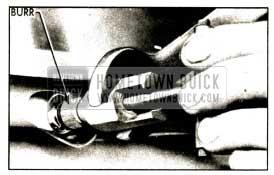1952 Buick Installing Driving Burr on Transmission Shaft