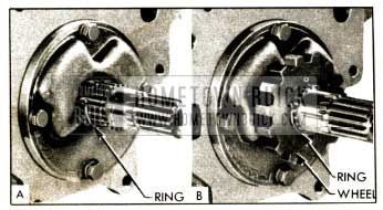 1952 Buick Installing Parking Lock Ratchet Wheel