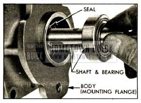 1952 Buick Installing Shaft and Bearing