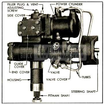 1952 Buick Power Steering And Power Steering Pump