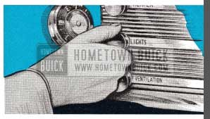 1952 Buick Light Switch
