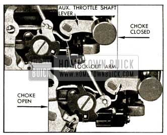 1952 Buick Lock-Out Arm Adjustment