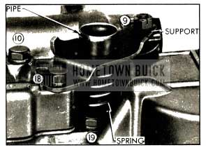 1952 Buick Oil Screen Suction Pipe Installation