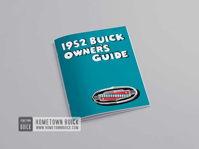 1952 Buick Owners Guide