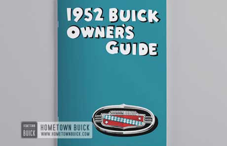 1952 Buick Owners Guide - 02