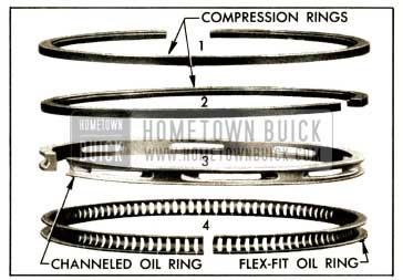 1952 Buick Piston Rings