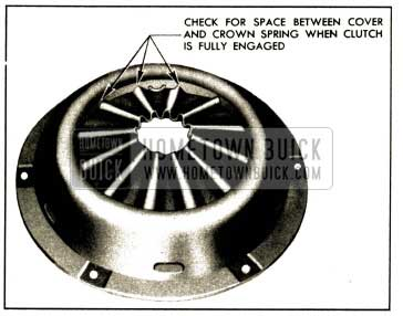 1952 Buick Points to Check Contact of Clutch Spring with Cover