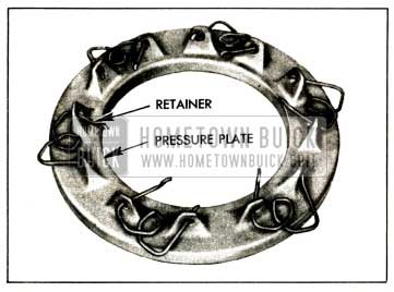 1952 Buick Positioning Spring Retainers