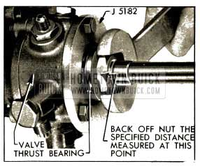1952 Buick Power Steering Adjusting Worm Thrust Bearings