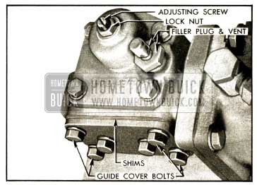 1952 Buick Power Steering Gear Adjustments