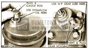 1952 Buick Power Steering Gear Filler Plugs