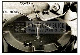 1952 Buick Power Unit Motor Oil Hole
