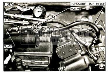 1952 Buick Pressure Gauge J 5176 Installed