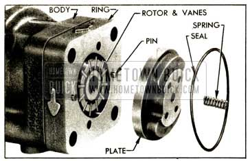 1952 Buick Pressure Plate, Ring, Rotor and Vanes