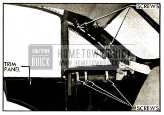 1952 Buick Rear Quarter Ventilator Installation