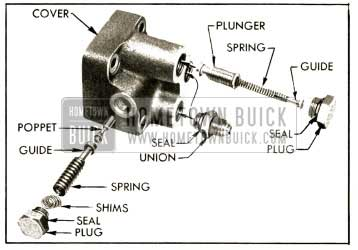 1952 Buick Relief and Flow Control Valve Parts