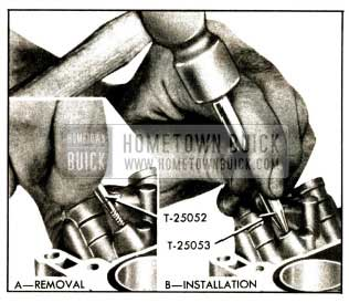 1952 Buick Removal and Installation of Ball Plugs