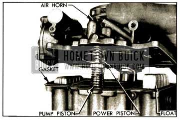 1952 Buick Removing Air Horn and Attached Parts
