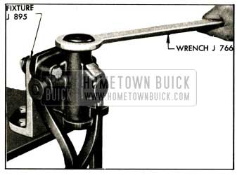 1952 Buick Removing Front Shock Absorber End Cap