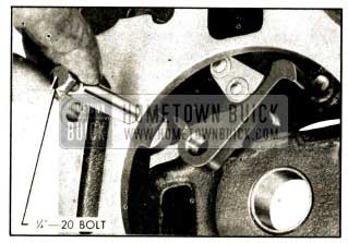1952 Buick Removing Lock Pawl Shaft