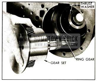 1952 Buick Removing Planetary Gear Set