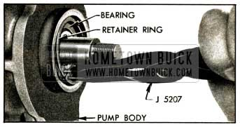 1952 Buick Removing Shaft Bearing Retainer Ring
