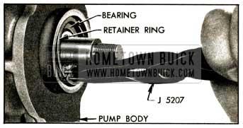 1952 Buick Removing Shaft Bearing Retainer Ring