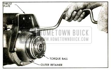 1952 Buick Removing Torque Ball